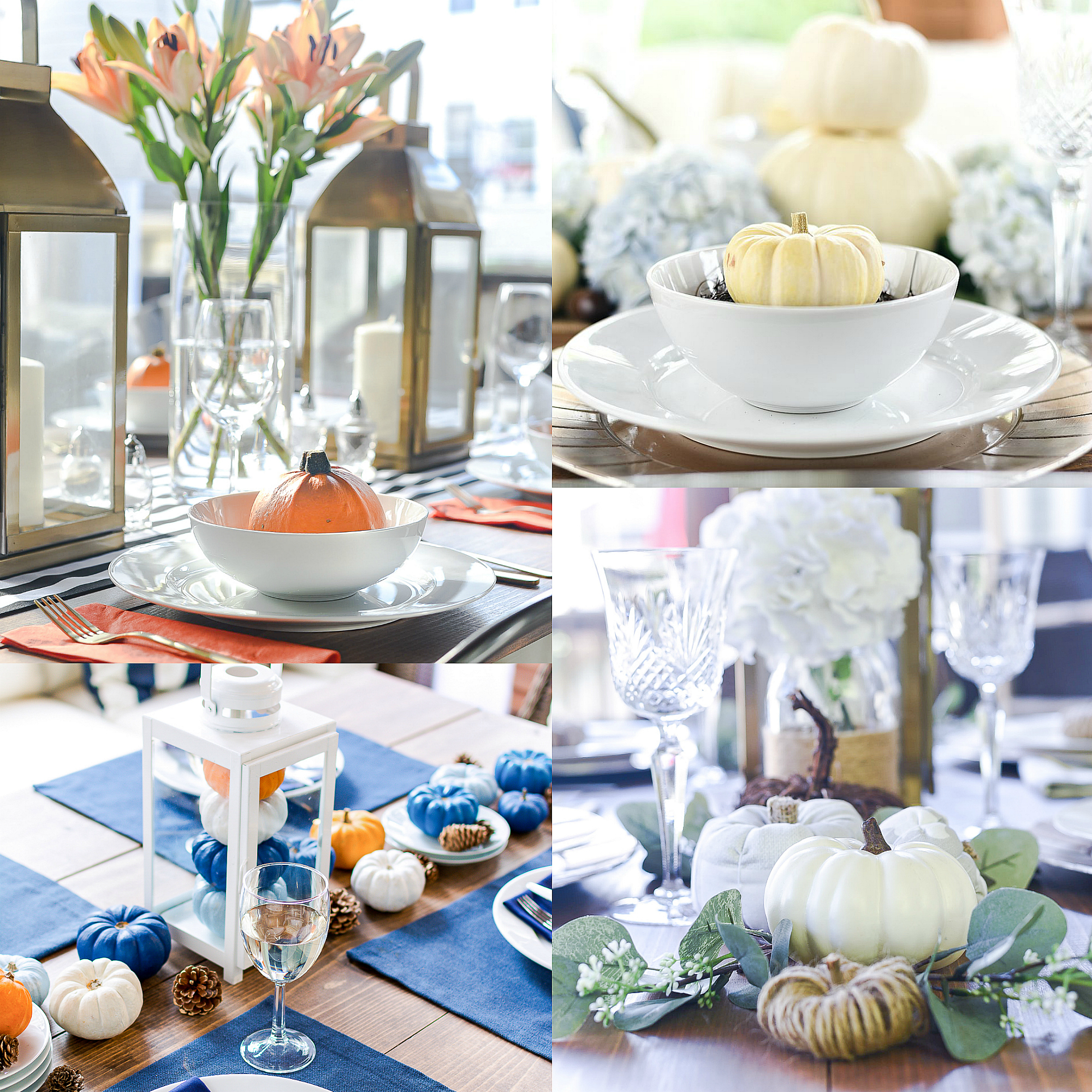 November in Chicago - Thanksgiving Table Setting Ideas