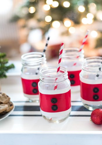 Mason Jar Santa Suit Cozy