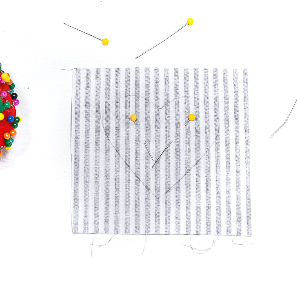 Fabric Stuffed Hearts. Neutral Valentine Decor. How To Make Stuffed Hearts. How to Make Fabric Stuffed Hearts. Sewing Stuffed Hearts Tutorial. Neutral Valentine's Day Crafts and Decor. Fabric Valentine's Craft Ideas. Hearts on Sticks. Stuffed Hearts on Sticks.