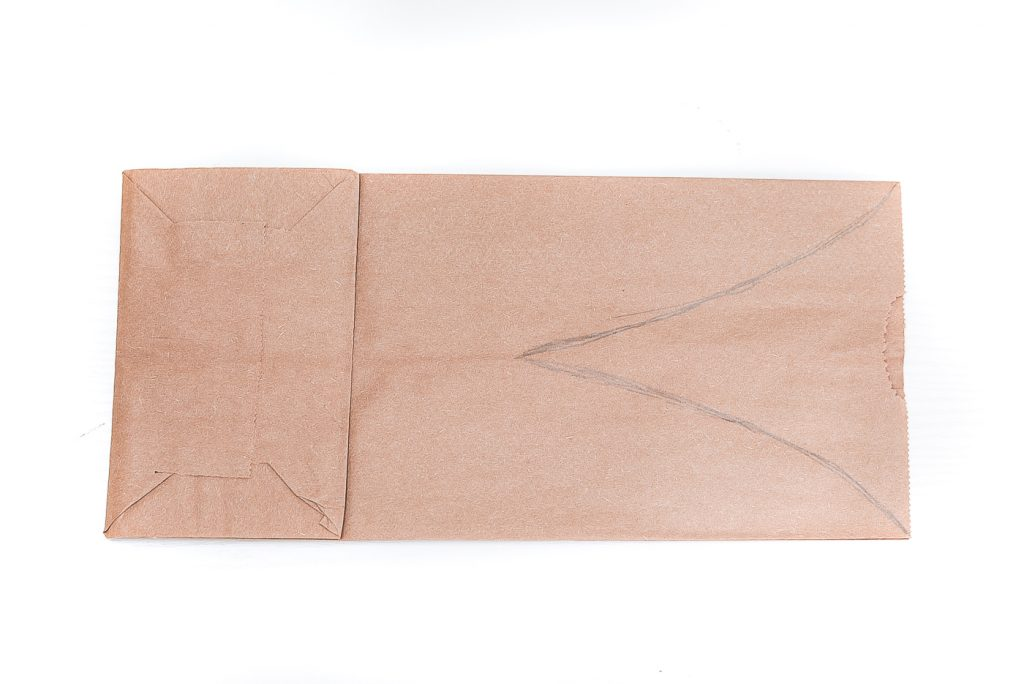 How to make paper bag bunny ear treat bag for Easter.