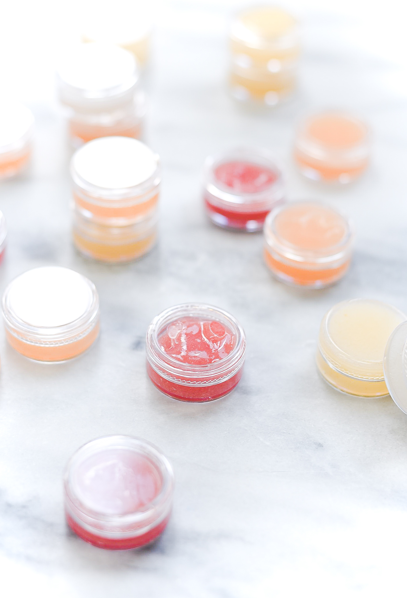 Homemade lip gloss with Jello. Jello lip gloss. How to make lip gloss with coconut oil and Vaseline and Jello.