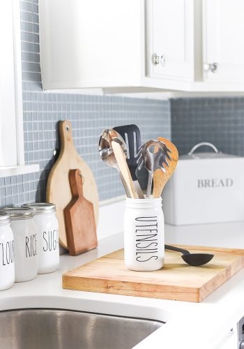 Rae Dunn-Inspired Kitchen Canisters