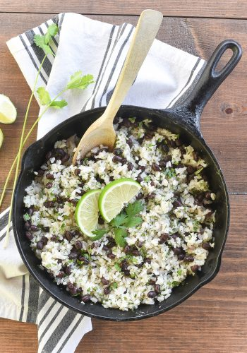 Cilantro & Lime Black Beans and Rice