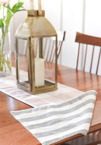 Two-Sided Table Runner DIY