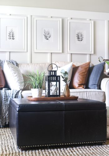 Fall Home Tour: Boho-Inspired Living Room